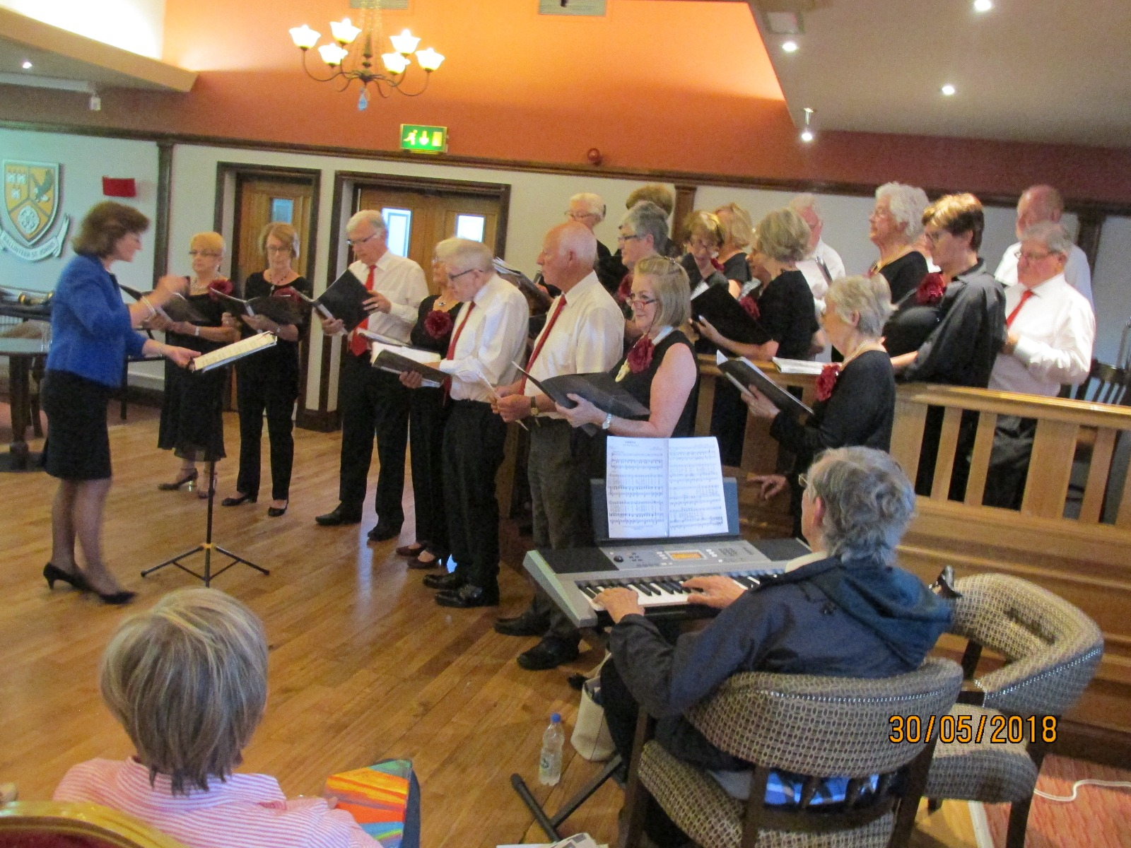 Ann and Colin - BARA Community Choir - May 2018