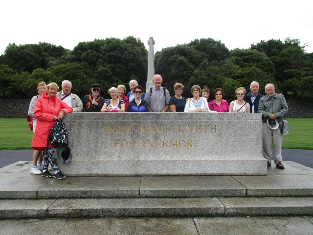 BARA Ramblers at the War Memorial Walk - Aug 2018