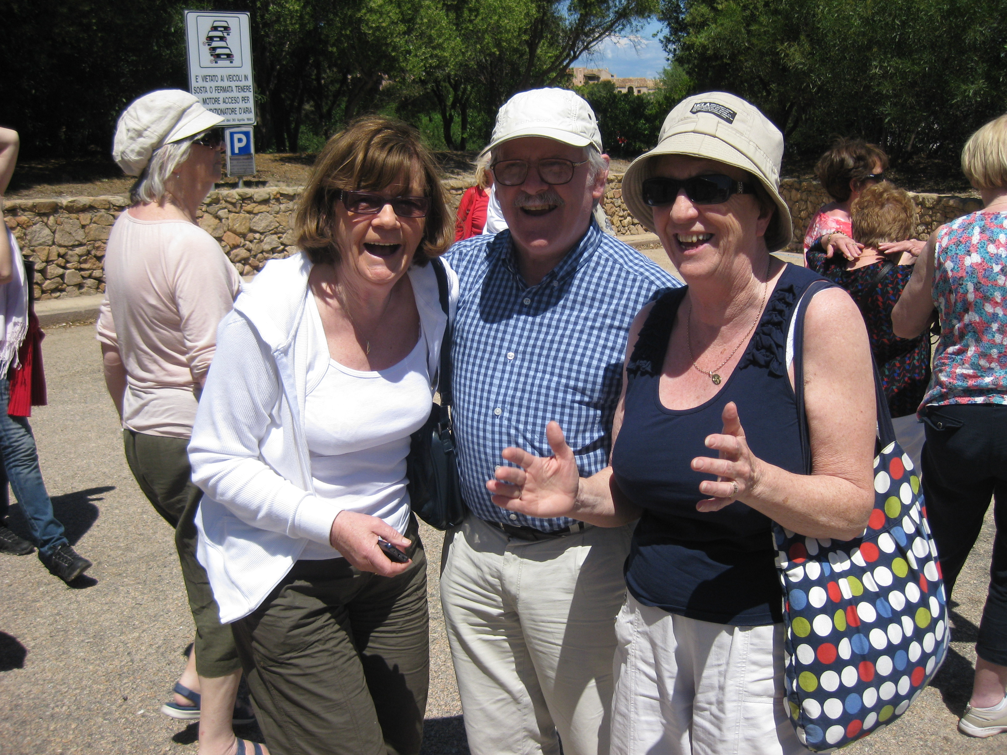BARA members in Sardinia