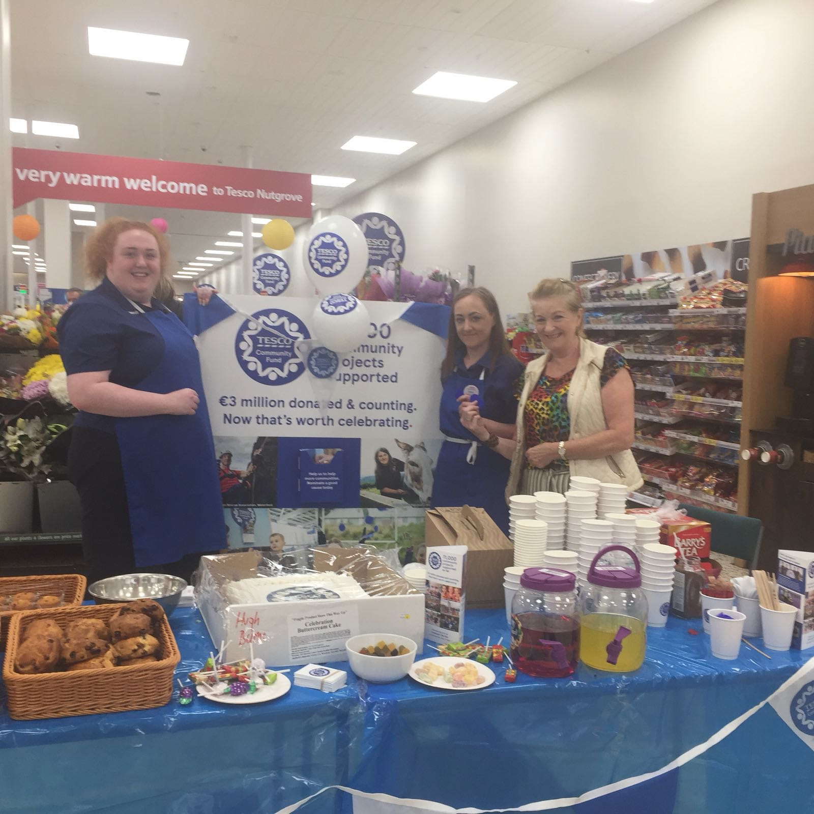 Celebration of Tesco Community Awards Scheme in Nutgrove - June 2018