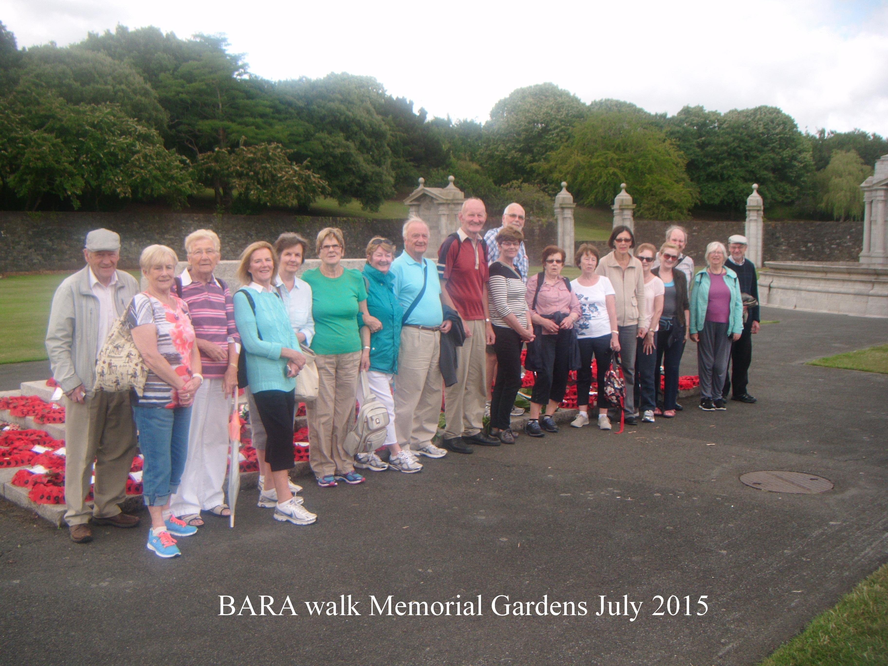 Memorial Garden 2015