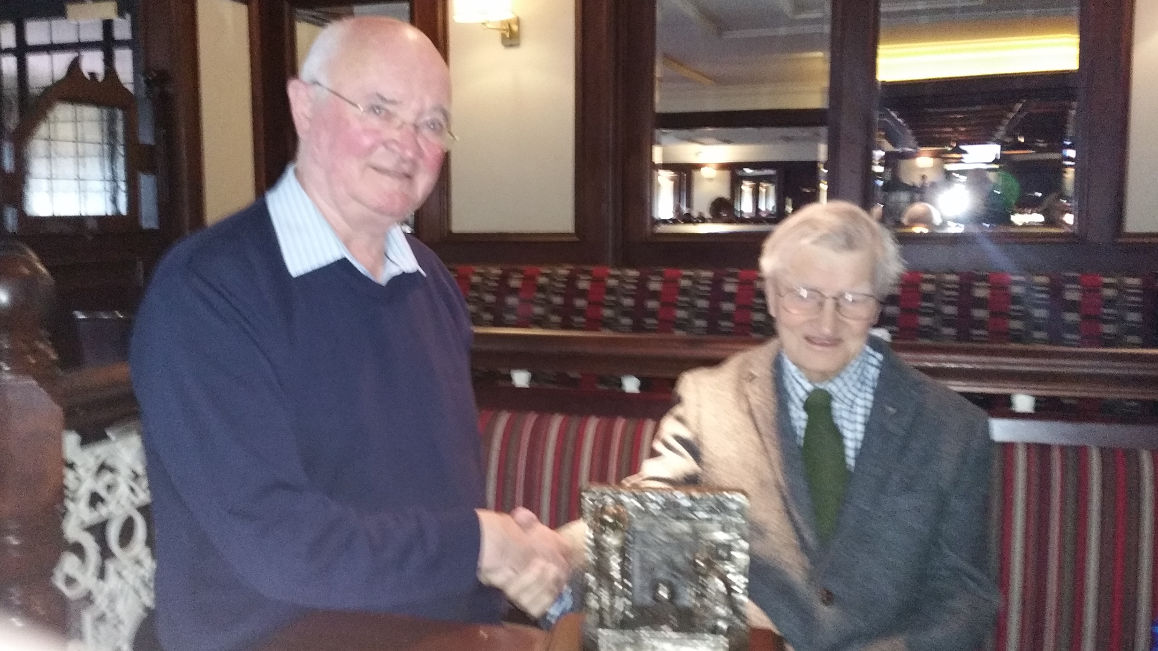 Presentation to Joe Fleming on his retirement from the Committee