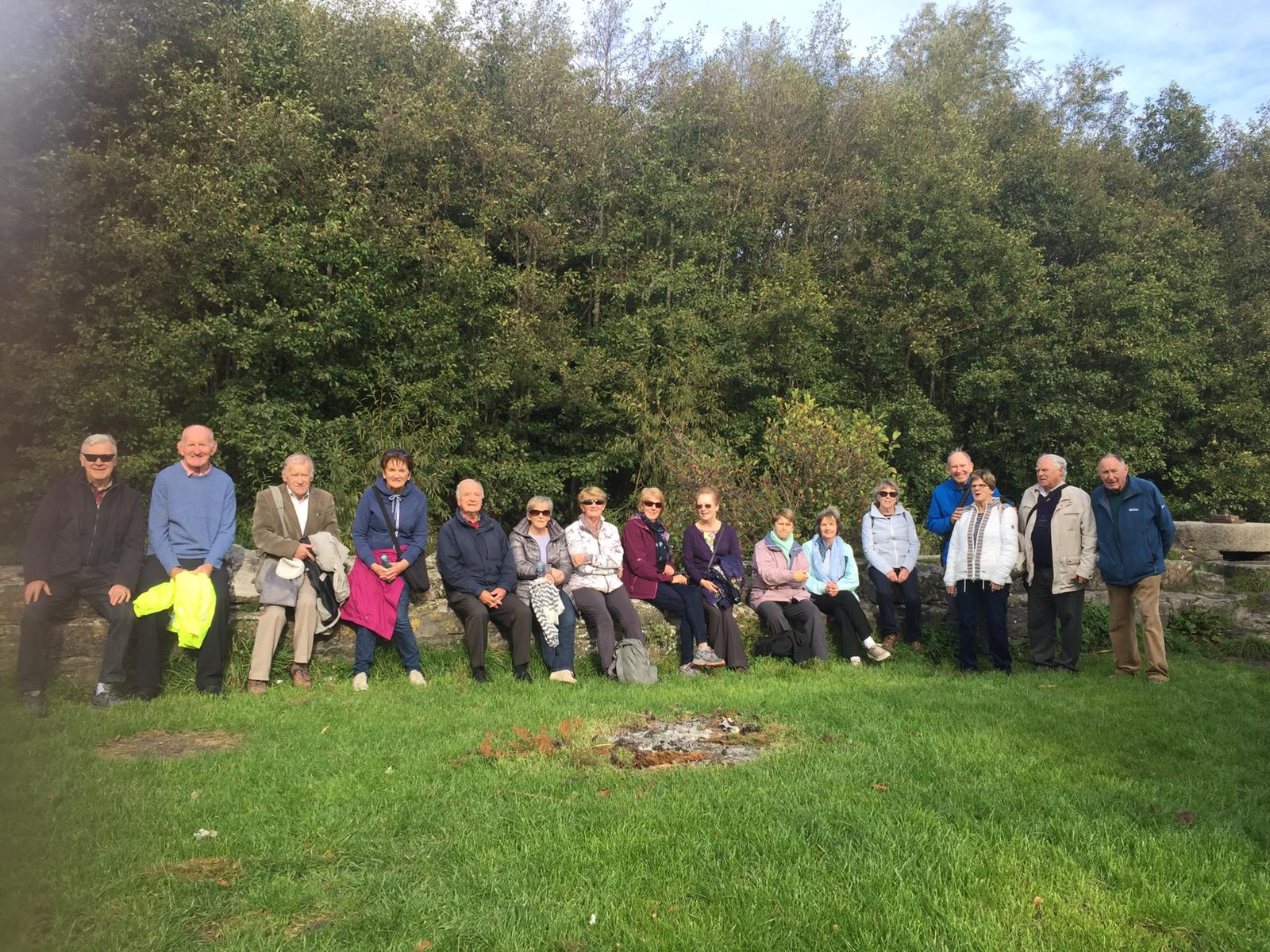 Ramblers Walk Along the Dodder Oct 2018