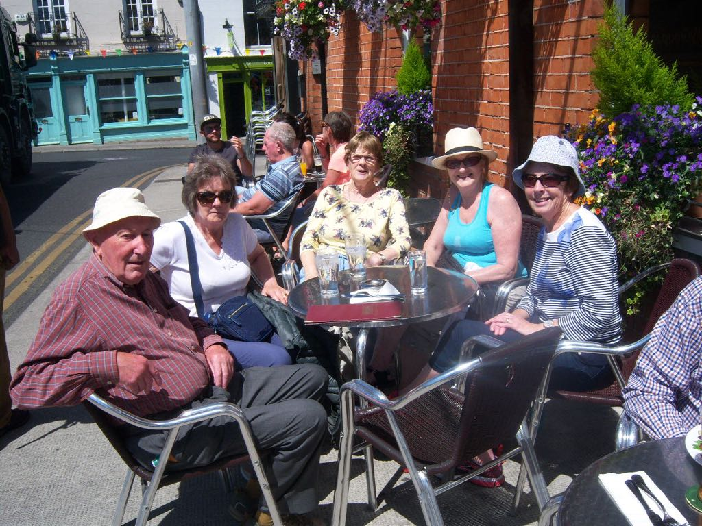 Ramblers lunch in Dalkey 2