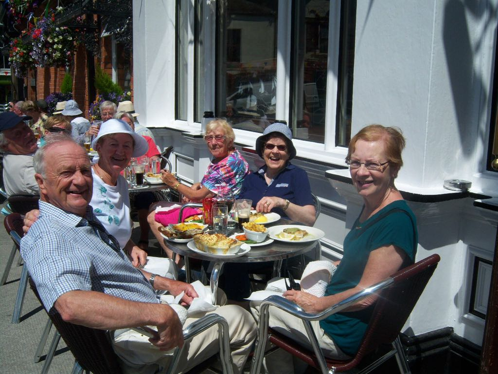 Ramblers lunch in Dalkey 3
