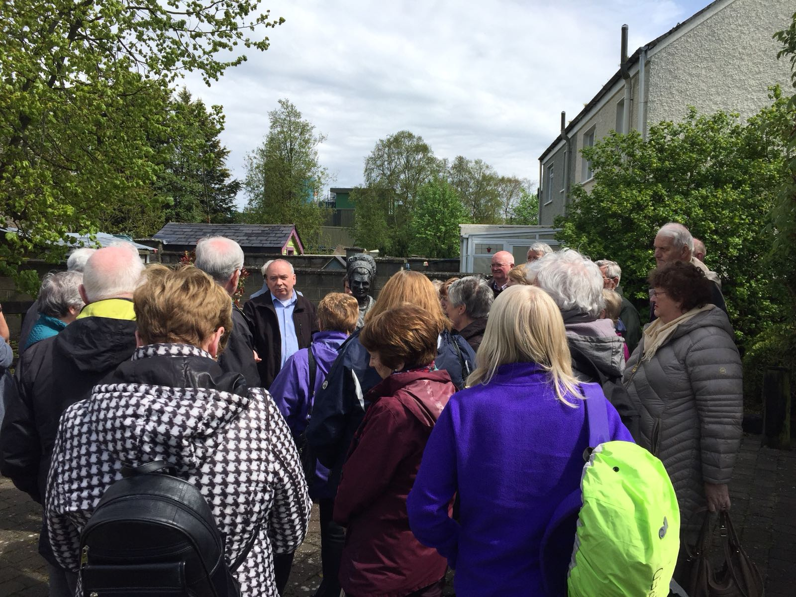 Tour of Quaker Village Co. Kildare May Trip 2018