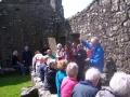Muiris O'Suilleabhain in Fore Abbey