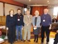 Presentation to retiring committee members
